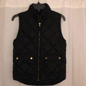 Jcrew Women's Black Excurison Vest